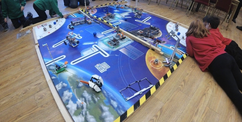 IET and FIRST® LEGO® League hold Cambridge preview event