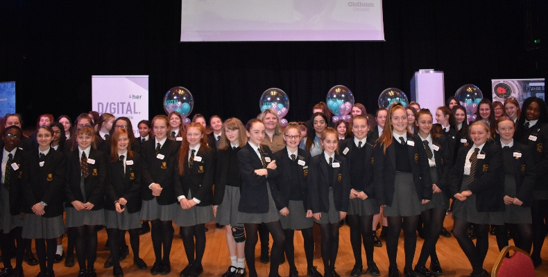 GCSE and A-level students gather in Oldham for the inaugural Inspire & Empower Roadshow event