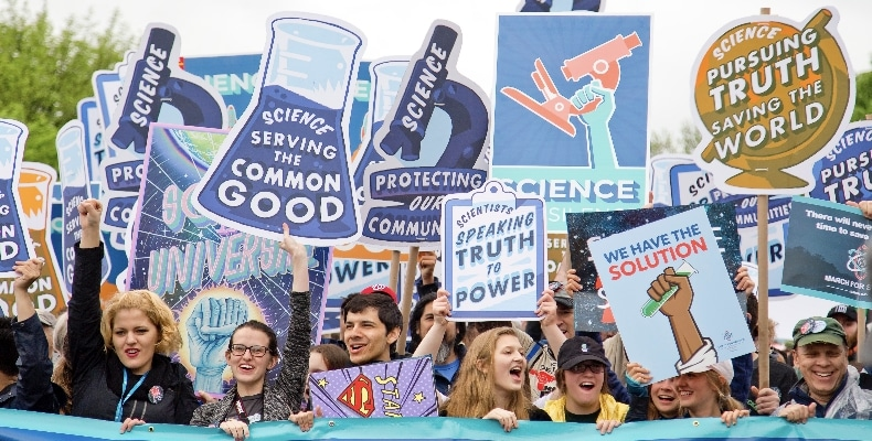 science-signs-protest-event-people-crowd-