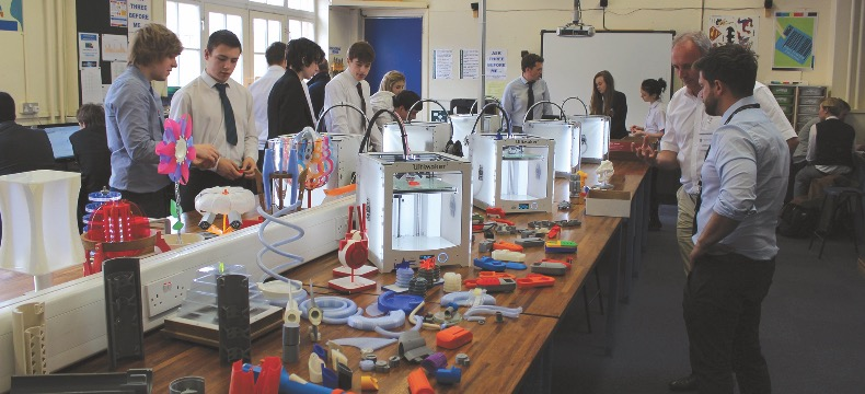 3D printing can be used to bring all sorts of subjects to life