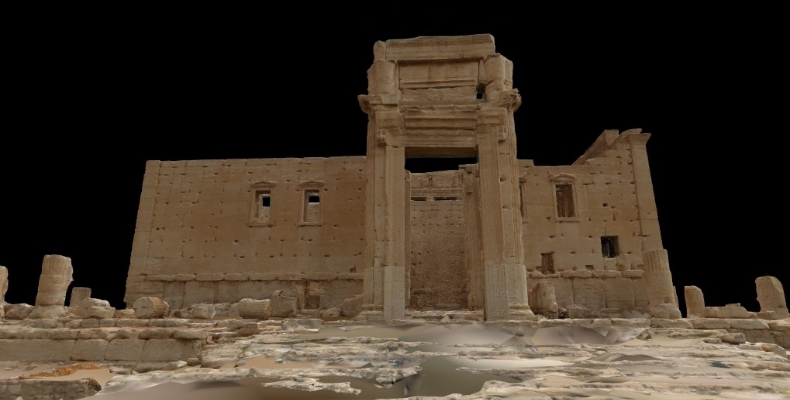 3D-model-reconstruction-of-the-Temple-of-Bel-Palmyra-based-on-700-donated-or-scraped-images-University-of-Bradford