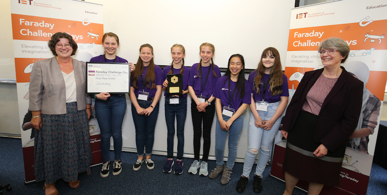 The finals of the engineering competition were held at the Royal Observatory in Edinburgh and challenged teams with designing a prototype that could safely move a new telescope.