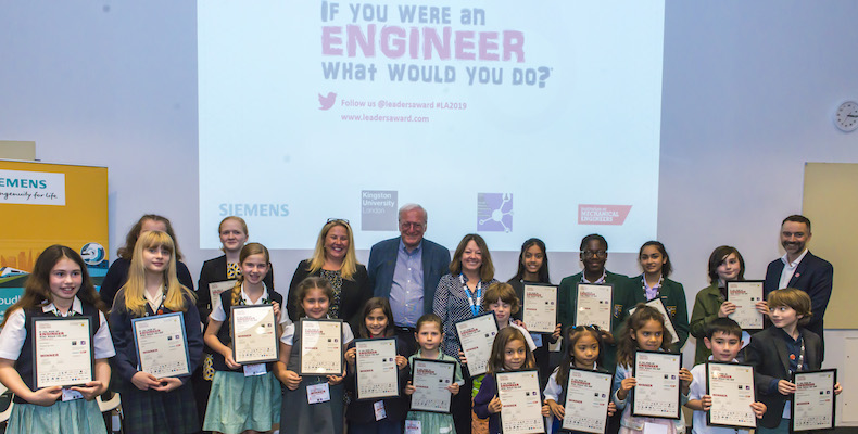 17 winning designs from primary and secondary schools in Greater London were showcased at the event held at Kingston University
