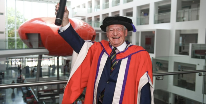 Michael-Grant-BCS-Solent-University-honorary-Doctor-of-Technology