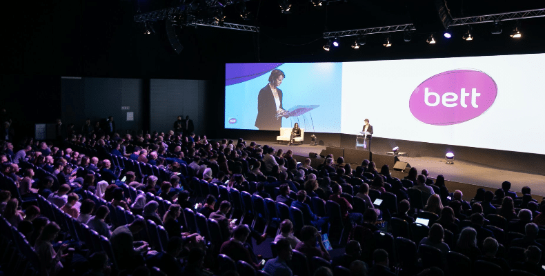 The three-year tie-up will begin at Bett UK in January