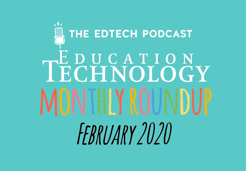 Edtech Podcast ET roundup